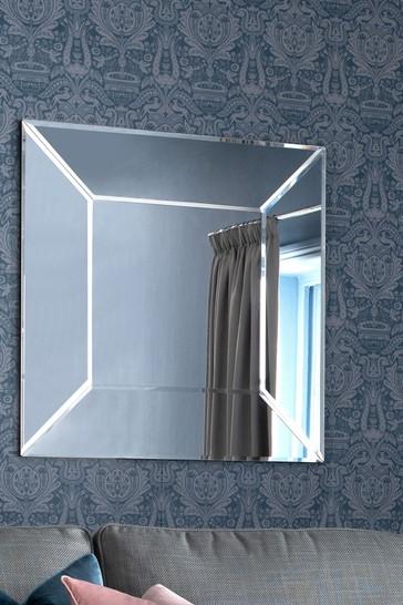 Laura Ashley Gatsby Large Square Mirror
