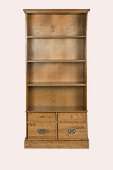 Garrat Honey 4 Drawer Single Bookcase by Laura Ashley