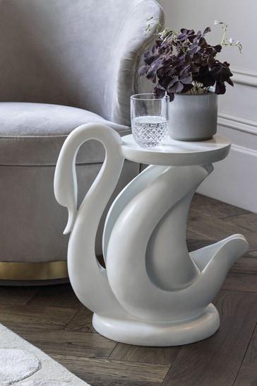 Swan Side Table