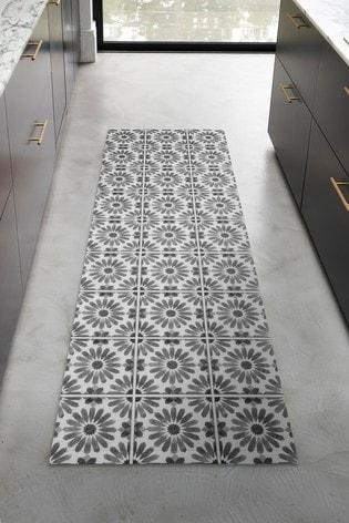 Vinyl Tiles Indoor/Outdoor Runner