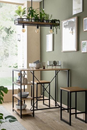 Elliot Bar Table and 2 Stool Set