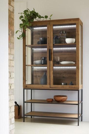 Bronx Glazed Cabinet