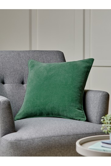 Ivy Soft Velour Small Square Cushion