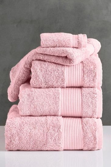 Soft Pink Egyptian Cotton Towels