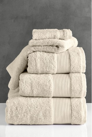 Natural Egyptian Cotton Towels