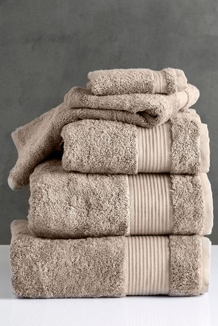 Mink Natural Egyptian Cotton Towels