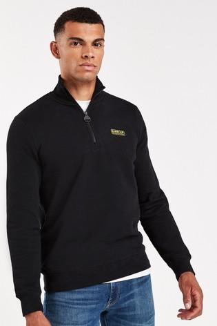 Barbour® International Half Zip Sweater