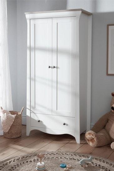 Cuddleco Clara 2 Door Double Wardrobe