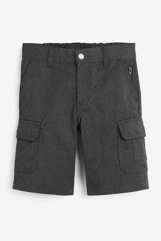 Grey Combat Shorts (3-14yrs)