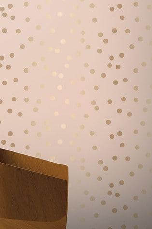 Arthouse Pink Dotty Spots Wallpaper
