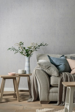 Arthouse Silver Fossil Wallpaper