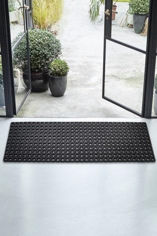 Extra Wide Mini Hearts Doormat
