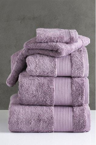 Lavender Purple Egyptian Cotton Towels