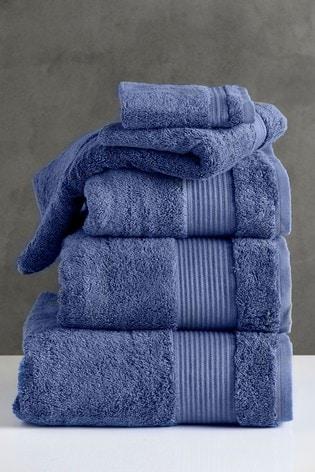 True Blue Egyptian Cotton Towels