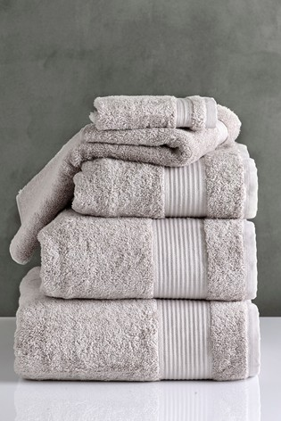 Silver Grey Egyptian Cotton Towels