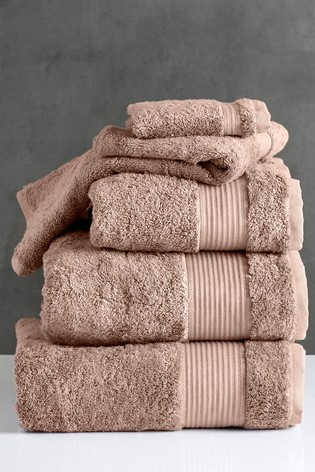 Rose Pink Egyptian Cotton Towels
