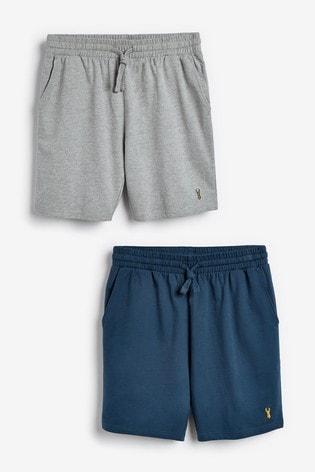 Blue/Grey Lightweight Shorts 2 Pack