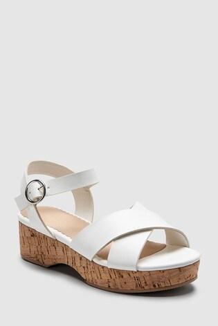 Wedge White Next Australia Buy SandalsolderFrom 6m7yvIYfbg