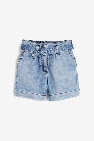 Mid Blue Bermuda Shorts (3-16yrs)
