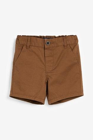 Ginger Tan Chino Shorts (3mths-7yrs)