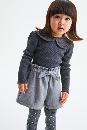 Grey Shorts & Tight Set (3mths-7yrs)