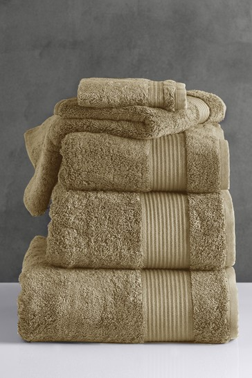 Sorrel Green Egyptian Cotton Towels