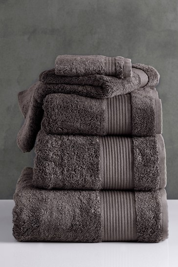 Peppercorn Natural Egyptian Cotton Towels