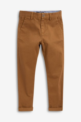 Ginger Slim Fit Stretch Chino Trousers (3-16yrs)