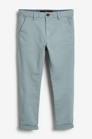 Minerals Slim Fit Stretch Chino Trousers (3-16yrs)
