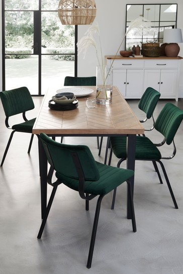 Inca 6 Seater Dining Table