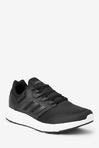 Details about adidas Galaxy 4 Running Shoes Mens Black Jogging Trainers Sneakers