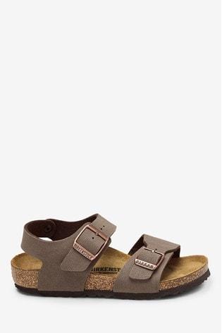 Birkenstock® Brown Mocha New York Sandals