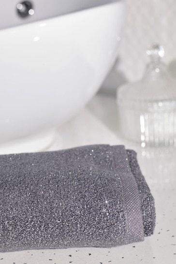 Silver Sparkle Towel