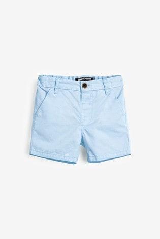 Blue Chino Shorts (3mths-7yrs)