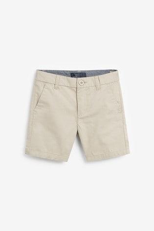 Stone Chino Shorts (3-16yrs)