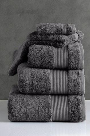 Mole Grey Egyptian Cotton Towels