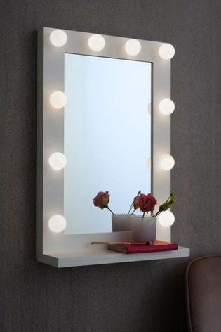 Hollywood Lit Mirror