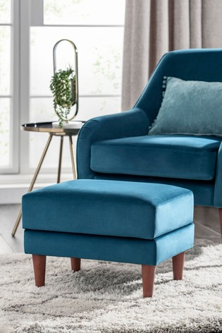 Danby Storage Footstool With Mid Legs
