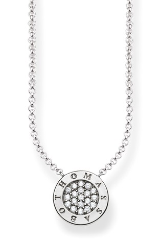 Thomas Sabo Sterling Silver Classic Logo Necklace