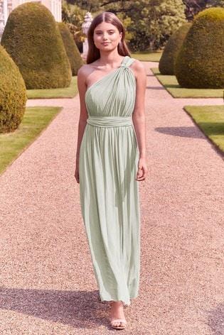 Lipsy Mint Bella Multiway Bandeau Bridesmaid Dress