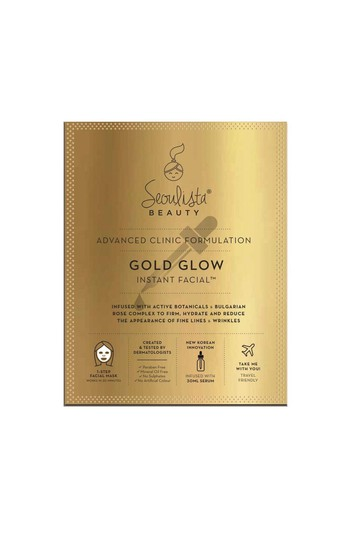 Seoulista Beauty Golden Glow Instant Facial