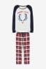 Womens Matching Family Reindeer Pyjamas