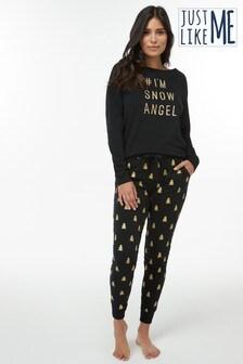 Womens Matching Family Slogan Pyjamas