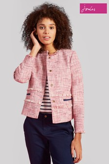 Joules Red Maybelle Fitted Jacket