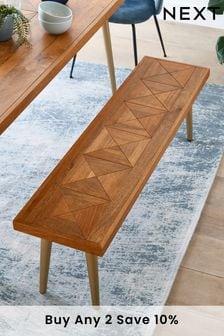 Lloyd Mango Wood Dining Bench