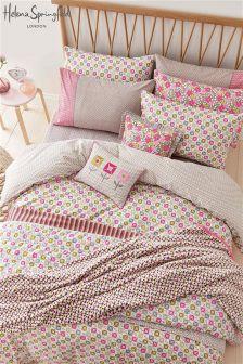 Helena Springfield Dot Duvet Cover and Pillowcase Set