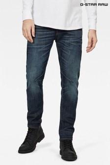 G-Star Blue D-Staq Five Pocket Slim Jeans