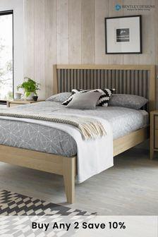 Rimini Oak Slatted Bed by Bentley Designs