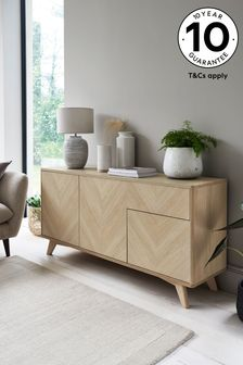 Anderson Oak Effect Large Sideboard with Drawer