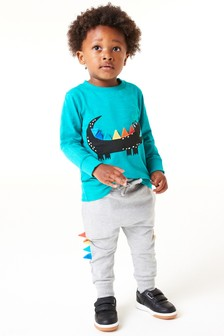 Character T-Shirt And Joggers Set (3mths-7yrs)
